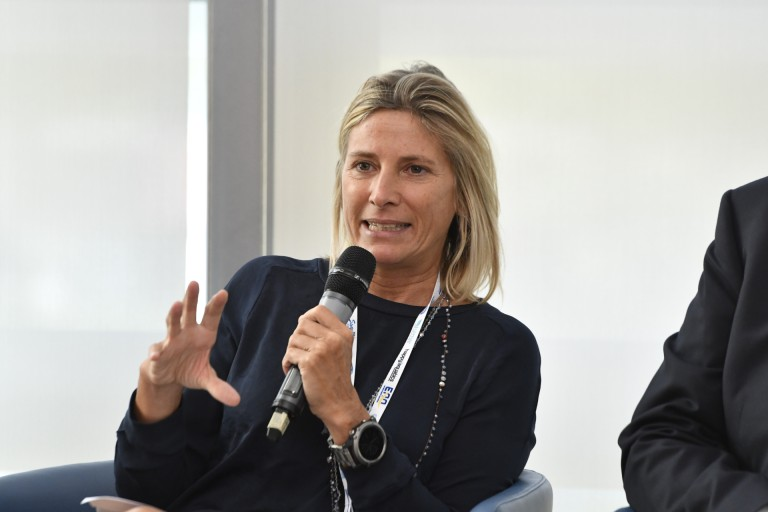 Roberta Guaineri (Assessore allo Sport Comune Milano)