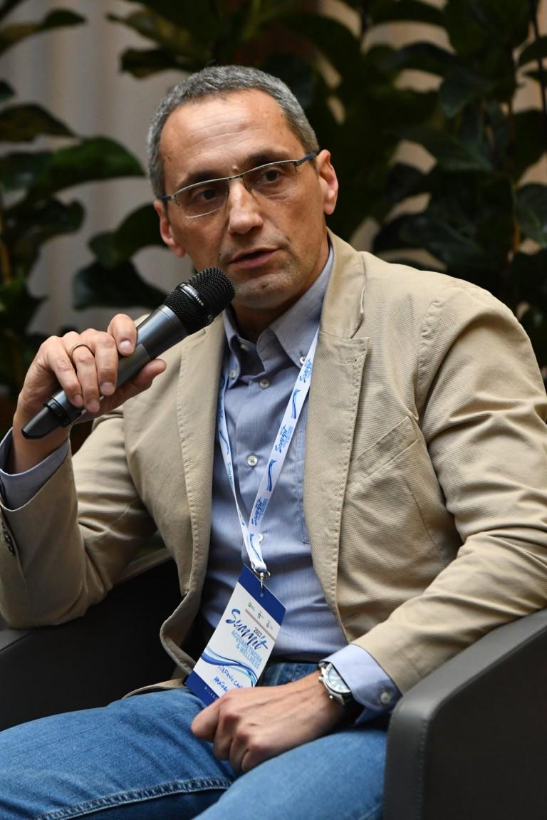 Stefano Candidoni (Presidente Amatori Nuoto Perugia)